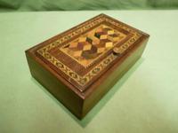 Genuine Tunbridge Ware Box. 100% Original. c1875 (9 of 9)