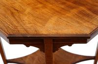 19th Century Rosewood Octagonal Centre or Window Table Occasional Side (5 of 6)