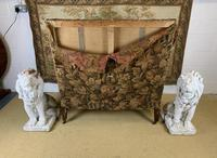 19th Century Two Seat Wingback Settee (6 of 8)