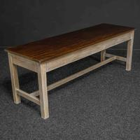 Country Style Three Drawer Dining Table (3 of 10)