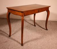 Italian Desk / Console In Walnut 18th Century (8 of 9)