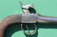 19th Century Box Lock Percussion Pistol (4 of 5)