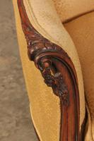 French Walnut Couch (16 of 16)