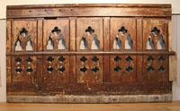 2 Lengths of 19th Century Gothic Arched Panelling (3 of 9)