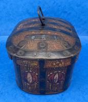 19th Century Arts And Crafts Scandinavian Birch Box (6 of 12)