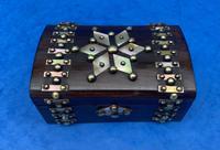 Victorian Brassbound French Rosewood Trinket Box (4 of 11)