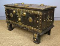 Characterful Early Indian Chest 18th Century (7 of 10)