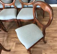 Set of 10 Victorian Balloon Back Chairs (3 of 10)