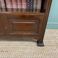 Quality Edwardian Mahogany Antique Bookcase by Waring & Gillow (2 of 8)