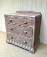 Limed Oak Chest of Drawers (6 of 9)