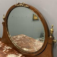 Large French Marble Top Dressing Table (5 of 9)