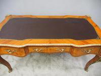 Large French Walnut Bureau Plat / Writing Table (10 of 16)