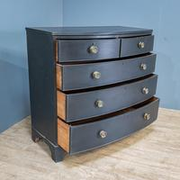Bow Front Painted Chest of Drawers (2 of 8)