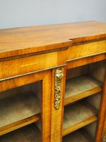 Victorian Walnut Breakfront Credenza (6 of 13)