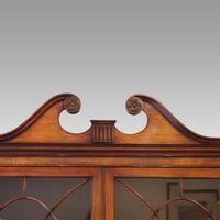 George VI Mahogany Library Bookcase (7 of 13)