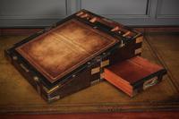 Rare Victorian Coromandel Writing Slope (13 of 19)