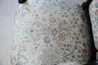 Ebonised Victorian Open Armchair (5 of 8)