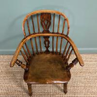 Stunning Country House Elm & Ash Antique Windsor Chair (6 of 7)