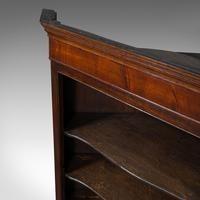 Antique Corner Cabinet, English, Oak, Flame Mahogany, Cupboard, Georgian c.1800 (11 of 12)