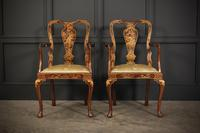 Pair of Chinoiserie Japanned Armchairs (11 of 16)