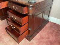 Large Georgian Style Double Sided Partners Desk (26 of 51)