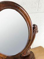 Small Victorian Mahogany Bedroom Swing Mirror (8 of 8)