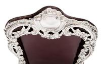 """Antique Victorian Sterling Silver 8"""" Photo Frame 1899 (2 of 9)"""