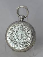 Ladies Victorian Silver Pocket Watch (2 of 3)