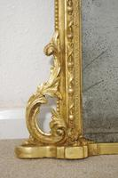 19th Century  English Gilt Arch Top Overmantle Mirror (5 of 10)