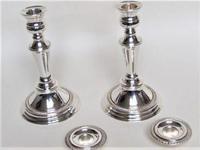 Pair of Edwardian Silver Plated Candelarbra (5 of 5)