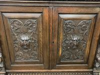 Imposing Carved Oak Bookcase (11 of 23)