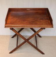 Late 19th Century Mahogany Butlers Tray (6 of 9)