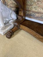19th Century Burr Walnut Console Table (6 of 8)