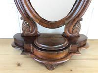 Small Victorian Mahogany Bedroom Swing Mirror (6 of 8)