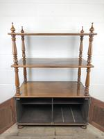 19th Century Mahogany Buffet with Cupboard Base (18 of 18)