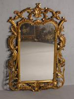 Classical Late 19th Century  Chippendale Style Giltwood Mirror (3 of 4)