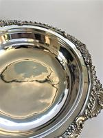 Handsome Victorian Silver Plated Warming Dish (7 of 7)