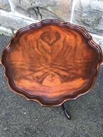 Antique Mahogany Tripod Wine Table (4 of 4)
