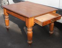 1900's Small Country Pine Kitchen Table Stand (2 of 3)