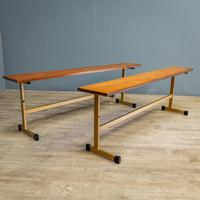 Pair of Teak Benches (2 of 7)