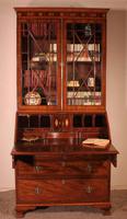 18th Century Secretaire Bureau in Mahogany - England