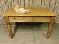 Antique Pine Farmhouse Table c.1860 (8 of 9)