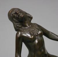 Art Deco Bronze Figure of a Dancing Nude (5 of 6)