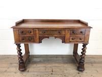 Antique Mahogany Desk with Barley Twist Supports (7 of 13)