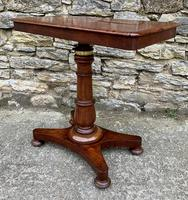 Victorian Mahogany Adjustable Duet Reading Stand (9 of 20)