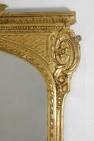 19th Century Gilt Overmantle Mirror (6 of 12)