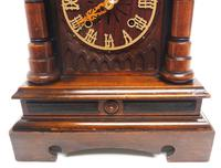 Rare Junghans Cuckoo Mantel Clock – German Black Forest Mantle Clock (7 of 12)