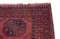 """Vintage / Retro Wool Rug Roughly 6'8"""" x 4'4"""" (5 of 7)"""