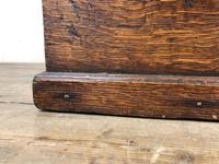 19th Century Oak Box Belonging to Henry Hanmer MP (8 of 16)