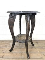 Early 20th Century Carved Side Table (9 of 9)